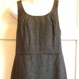 Ann Taylor Petites Dress Wool Blend Tweed Pockets